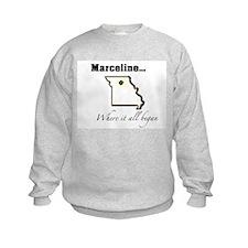 Marceline...Where it all began Sweatshirt