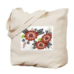 Petrykivka Flowers I Tote Bag