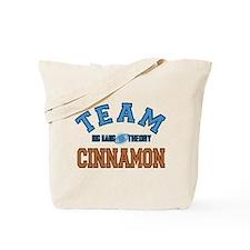 Team Cinnamon Big Bang Theory Tote Bag