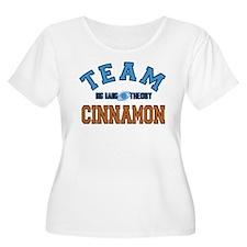 Team Cinnamon Big Bang Theory Plus Size T-Shirt