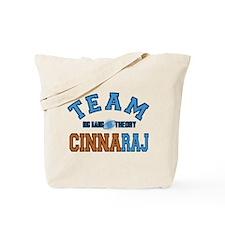 Team CinnaRaj Big Bang Theory Tote Bag