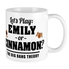 Emily Or Cinnamon Big Bang Theory Mugs