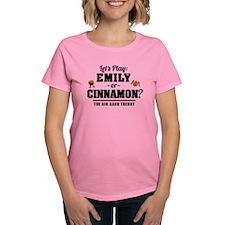 Emily Or Cinnamon Big Bang Theory T-Shirt
