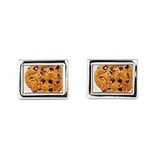 Chocolate_chip_cookies Rectangular Cufflinks
