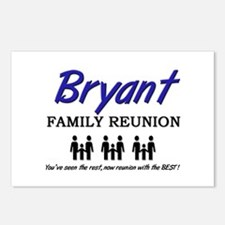 Bryant Family Reunion Postcards (Package of 8)