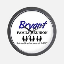 Bryant Family Reunion Wall Clock