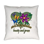 Butterflygrandmother.png Everyday Pillow