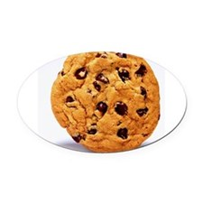 Chocolate_chip_cookies Oval Car Magnet