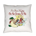 ChristmasNaughtyorgonnabe copy.png Everyday Pillow