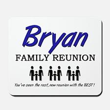 Bryan Family Reunion Mousepad