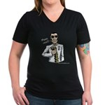 Women's V-Neck Feed Her T-Shirt