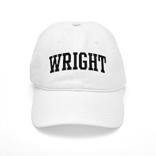 WRIGHT (curve-black) Baseball Cap