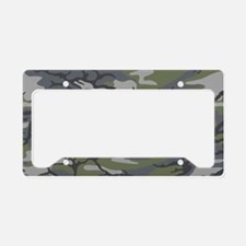 Weathered Outcrop Camo License Plate Holder