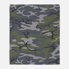 Weathered Outcrop Camo Throw Blanket