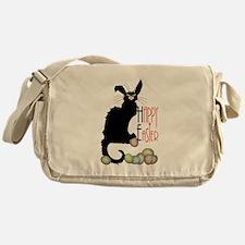 Happy Easter - Le Chat Noir Messenger Bag