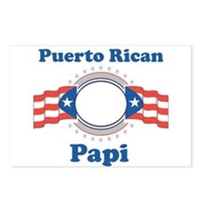 Puerto Rican Papi Postcards (Package of 8)