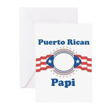 Puerto Rican Papi Greeting Cards (Pk of 10)