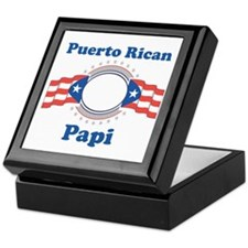 Puerto Rican Papi Keepsake Box