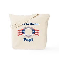 Puerto Rican Papi Tote Bag