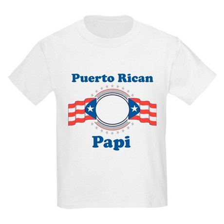 Puerto Rican Papi Kids Light T-Shirt