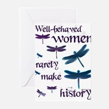 Unique Well behaved women Greeting Cards (Pk of 20)