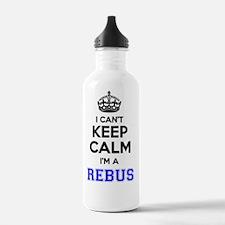 Unique Rebus Water Bottle