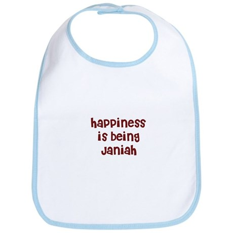 happiness is being Janiah Bib