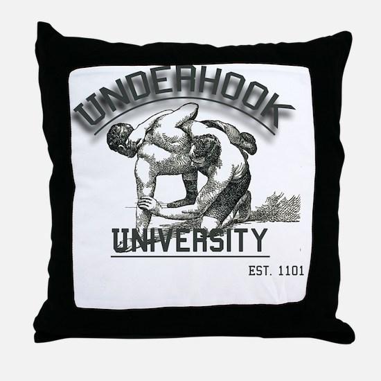 Cute Wrestling Throw Pillow