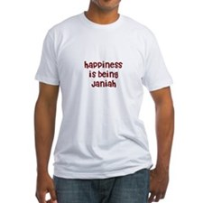 happiness is being Janiah Shirt