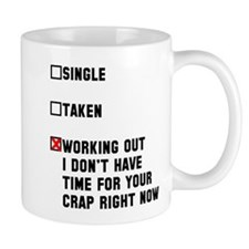 Single Taken Working Out Mug