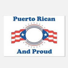 Puerto Rican And Proud Postcards (Package of 8)