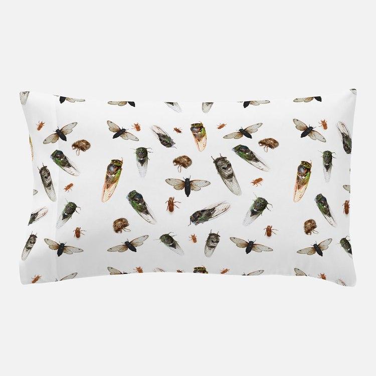 A mess of cicadas Pillow Case