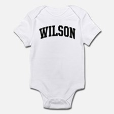 WILSON (curve-black) Infant Bodysuit