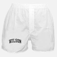 WILSON (curve-black) Boxer Shorts
