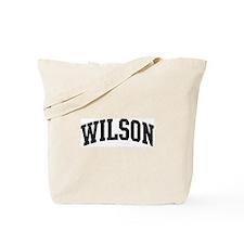 WILSON (curve-black) Tote Bag