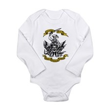 Unique Gaza Long Sleeve Infant Bodysuit