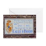 Bourbon St. Plaque Cards (Pk of 10)