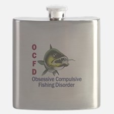 OCFD WALLEYE Flask