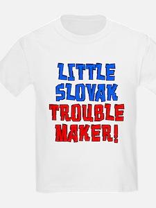 Little Slovak Trouble Maker T-Shirt
