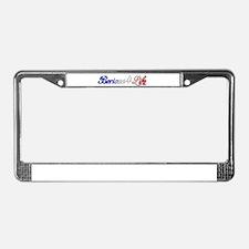 Boricua 4 Life License Plate Frame