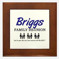 Briggs Family Reunion Framed Tile