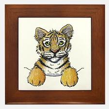 Pocket Tiger Framed Tile