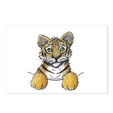Pocket Tiger Postcards (Package of 8)