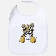 Pocket Tiger Bib