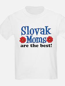 Slovak Moms The Best T-Shirt