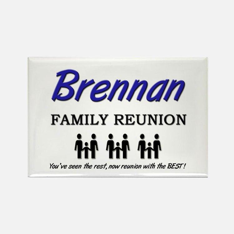 Brennan Family Reunion Rectangle Magnet
