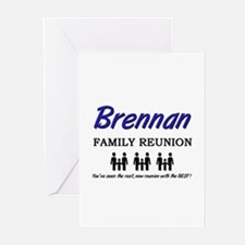 Brennan Family Reunion Greeting Cards (Package of