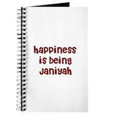happiness is being Janiyah Journal