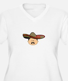 MAN IN SOMBRERO Plus Size T-Shirt