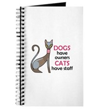 CATS HAVE STAFF Journal